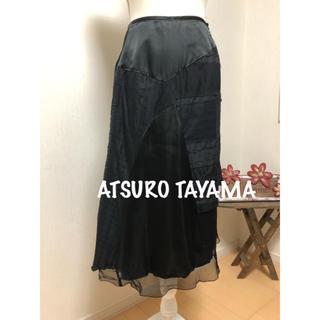 アツロウタヤマ(ATSURO TAYAMA)のATSURO TAYAMA デザインスカート(ロングスカート)