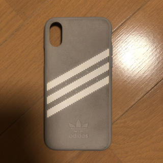 アディダス(adidas)のiPhone Xケース(アディダス)(iPhoneケース)
