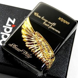 ジッポー(ZIPPO)の送料無料☆zippo☆Forever Wing☆ゴールドウイングメタル☆ジッポ(タバコグッズ)