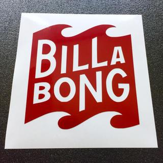 ビラボン(billabong)のリフレクター◾︎BILLABONG 再帰反射素材カッティングステッカー 送料無料(サーフィン)