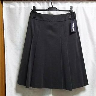アリスバーリー(Aylesbury)の新品   日本製   グレーのスカート(ひざ丈スカート)