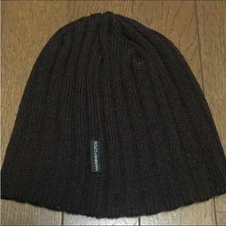 ドルチェアンドガッバーナ(DOLCE&GABBANA)のDOLCE&GABBANA/ニット帽/ダメージ加工(ニット帽/ビーニー)