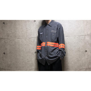 [used]reflective taped shirt.(シャツ)