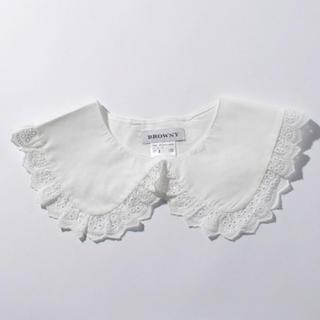 ウィゴー(WEGO)のWEGO BIGレース付け襟(つけ襟)