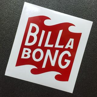 billabong - リフレクター素材◾︎BILLABONGロゴ カッティングステッカー 送料無料