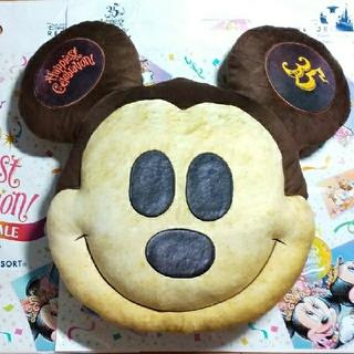 ディズニー(Disney)のディズニー ミッキーパン クッション(キャラクターグッズ)
