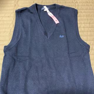 ヒロミチナカノ(HIROMICHI NAKANO)の★ヒロミチナカノ 160センチ 紺 ベスト★(Tシャツ/カットソー)