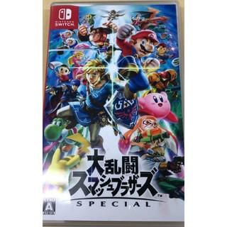 ニンテンドウ(任天堂)のスイッチ 大乱闘スマッシュブラザーズ(家庭用ゲームソフト)