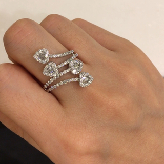 ヴァンドームアオヤマ(Vendome Aoyama)のダイヤモンド 指輪(リング(指輪))