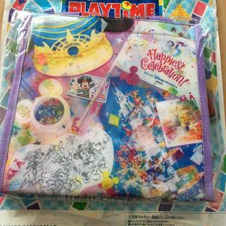 ディズニー(Disney)の新作♡ディズニーリゾート 35周年 グランドフィナーレ スーベニア ランチケース(キャラクターグッズ)