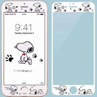 スヌーピー iPhone用液晶保護フィルム