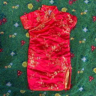 70サイズ ベビーチャイナ服(カバーオール)