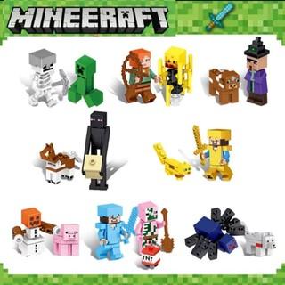 レゴ(Lego)のセット値引き マインクラフト LEGO  レゴ 互換 ミニフィグ 16体セット (知育玩具)