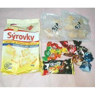 輸入菓子  チーズクラッカー  チョコ  キャンディ(菓子/デザート)
