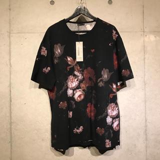 ラッドミュージシャン(LAD MUSICIAN)のLAD MUSICIAN 花柄Tシャツ 18ss 赤(Tシャツ/カットソー(半袖/袖なし))