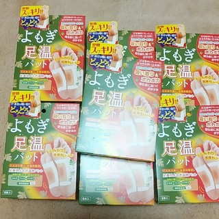 satoko様 よもぎ足温パット(1箱6枚入り) 7箱セット(フットケア)