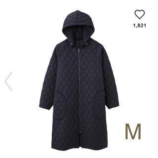 ジーユー GU gu 中綿 キルトコート キルト コート ロングコート 防寒
