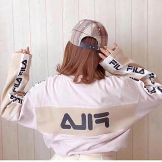 スナイデル(snidel)の❤️完売品❤️ スナイデル FILAロンT FILA×SNIDEL フィラコラボ(Tシャツ/カットソー(七分/長袖))