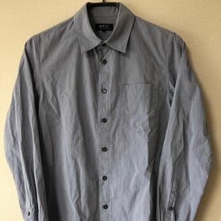 アーペーセー(A.P.C)のA.P.C コットン 長袖シャツ ブルー アーペーセー(シャツ)