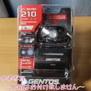 ジェントス(GENTOS)の箱なしVer. (新品未使用) GENTOS ヘッドライト GT-501D(ライト/ランタン)