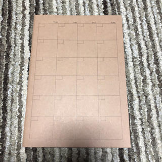 MUJI (無印良品) - 無印良品 スケジュール帳