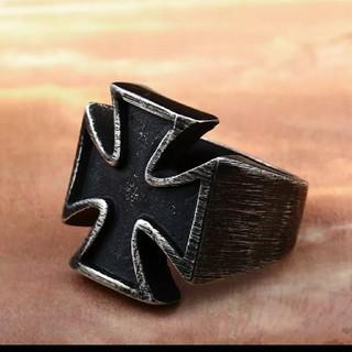 ステンレス ゴシッククロスリング9号(リング(指輪))