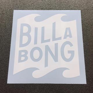 ビラボン(billabong)のBILLABONGロゴモチーフ カッティングステッカー 送料無料(その他)