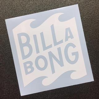 ビラボン(billabong)の◾︎BILLABONG◾︎ビラボン ロゴモチーフカッティングステッカー 送料無料(サーフィン)