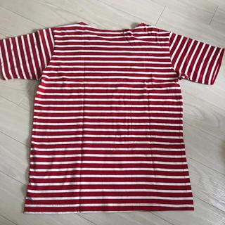 ジーユー(GU)のボーダーTシャツ(Tシャツ/カットソー(半袖/袖なし))