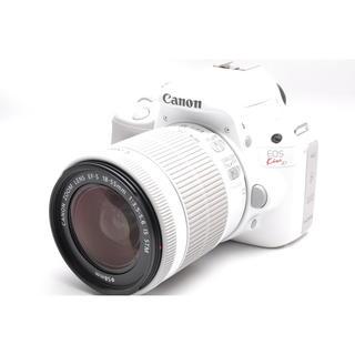 キヤノン(Canon)の❤️持ち運びラクチン&WiFi 対応❤️キャノン Kiss X7 ホワイト❤️(デジタル一眼)