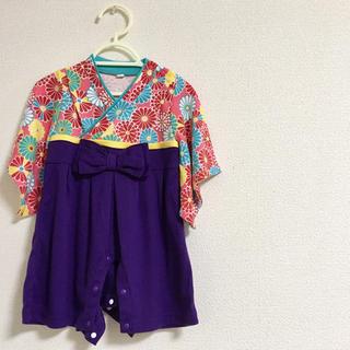 ベルメゾン(ベルメゾン)の70袴ロンパース!(和服/着物)