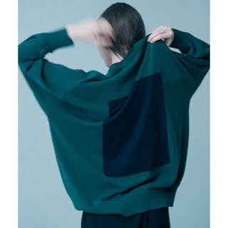 stein 19ss SQUARE MOTION KNIT LS