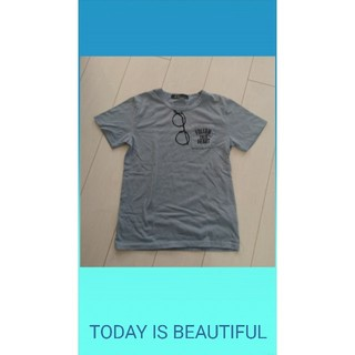 キッズ**サングラスモチーフTシャツ(Tシャツ/カットソー)