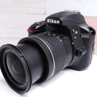 ニコン(Nikon)の★超美品★Nikon D3400 レンズキット(デジタル一眼)