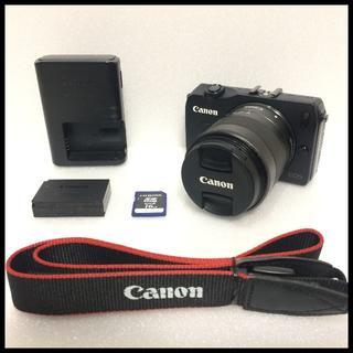 キヤノン(Canon)のCANON EOS M ブラック 標準レンズ(デジタル一眼)