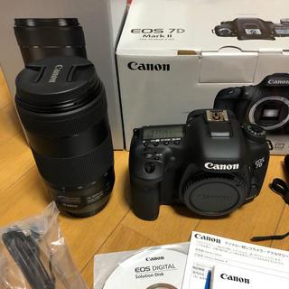 Canon EOS 7D markⅡ  EF70-300mm セット(デジタル一眼)