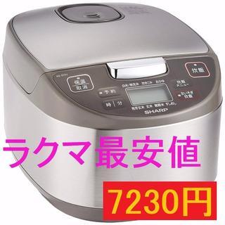 シャープ(SHARP)の最安値!SHARP炊飯器 5.5合 黒厚釜 球面炊き KS-S10-J(炊飯器)