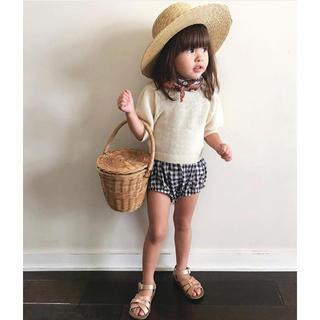 キャラメルベビー&チャイルド(Caramel baby&child )の新品未使用 Olli Ella Apple basket Sサイズ オリエラ(その他)