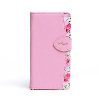 iPhoneケース 7/8 花柄 ボタニカル柄 手帳型ケース♡【新品】