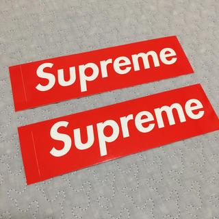 シュプリーム(Supreme)のsupreme 正規 ステッカー(ノベルティグッズ)
