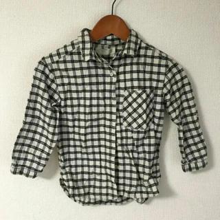 ZARA - 男の子 女の子 チェックシャツ