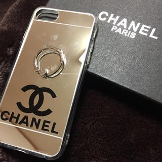 CHANEL - お値下げしました!!  iPhone6.6s.7.8ケース 対応  シルバー