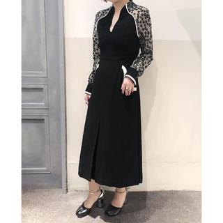 新品未使用 mame 完売 A-line dress