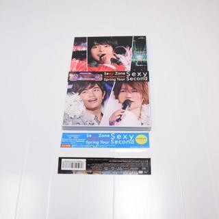 セクシー ゾーン(Sexy Zone)のSpring Tour sexy Second◆初回◆Blu-ray(ミュージック)