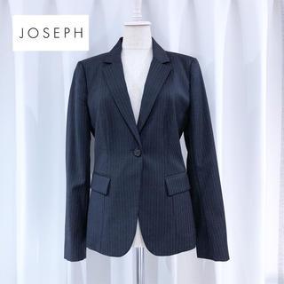 ジョゼフ(JOSEPH)のジョセフ ◆ グレー ピンストライプ テーラードジャケット オフィス(テーラードジャケット)