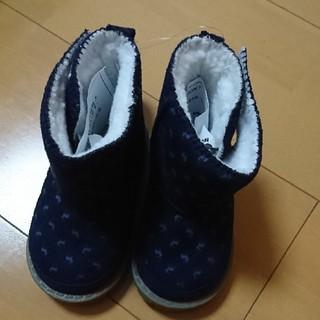 新品、タグつき。子供用 冬のブーツ  13センチ