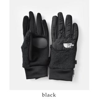 ザノースフェイス(THE NORTH FACE)の即完売 the north  face denali etip glove 手袋(手袋)