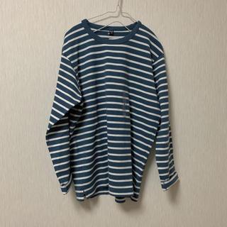 ユニクロ(UNIQLO)のボーダーT(Tシャツ/カットソー(七分/長袖))