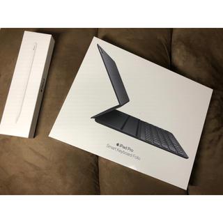 アップル(Apple)の未開封smartkeyboard folio12.9 apple pencil (iPadケース)