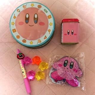 ニンテンドウ(任天堂)のカービィ セット お菓子缶2つ未開封(キャラクターグッズ)
